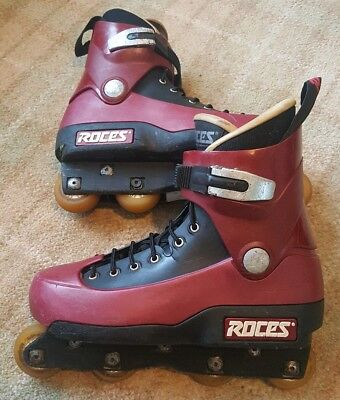 Roces 5th Element Aggressive Inline blades, Size 9, Classic Vintage 90's Skates
