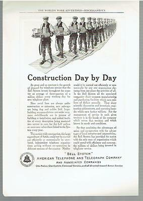Vintage, Original, 1923 - American Telephone and Telegraph Company Ad - AT&T