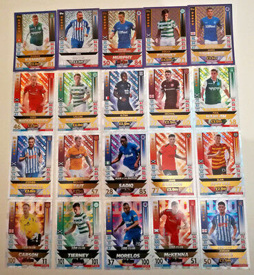 MATCH ATTAX 2018/19 SPFL Limited Edition 100 CLUB MAN OF THE MATCH CARD Scottish