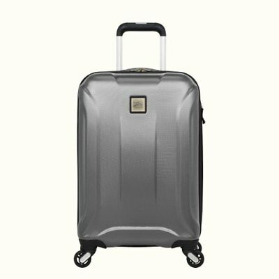 Skyway Nimbus 20-INCH SPINNER CARRY-ON LUGGAGE SUITCASE   Silver