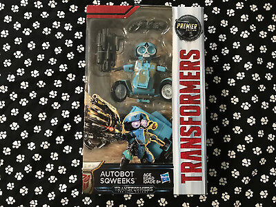 Transformers 5 The Last Knight Autobot Sqweeks Action Figures Premier Edition