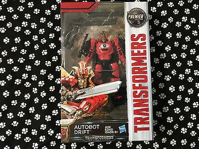Transformers 5 The Last Knight Autobot Drift Action Figures Premier Edition