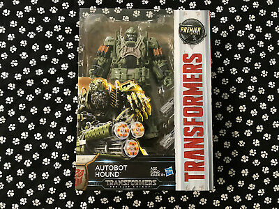 Transformers 5 The Last Knight Autobot Hound Action Figures Premier Edition