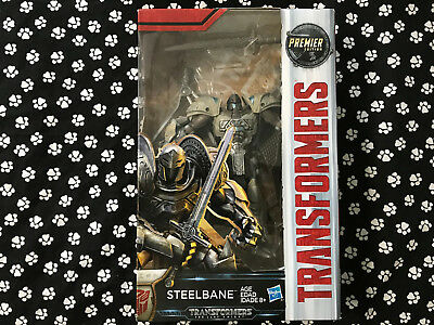 Transformers 5 The Last Knight Steelbane Action Figures Premier Edition