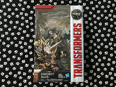 Transformers 5 The Last Knight Dinobot Slug Action Figures Premier Edition