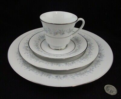Noritake Marywood 2181 5 Pc Setting Dinner Salad Bnb Tea Cup Saucer  More Avail.