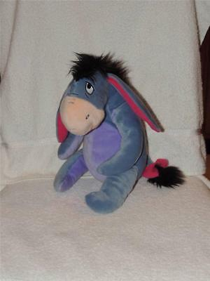 "Kohls Cares For Kids Disney 12"" Eeyore Donkey Stuffed Plush Animal Dol"