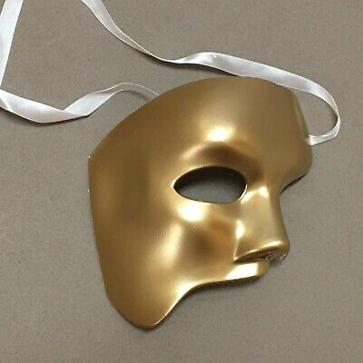 Halloween Classic Phantom Of the Opera Men Costume Party Masquerade Mask