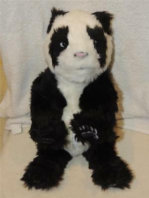 "WowWee Alive Realistic Panda Bear Cub Electronic Animated 15"" Plush Life Sized"