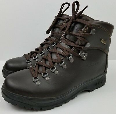 5f15bef0a06 LL BEAN GORE-TEX Cresta Hiking Boots Men's Size 9 Leather with Green  Superfeet