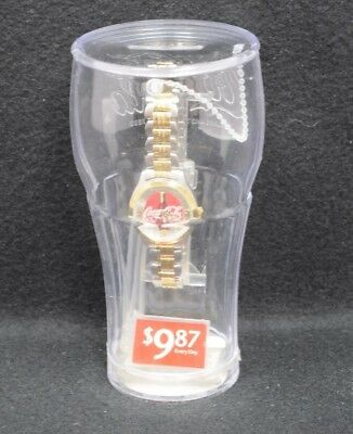 Coca Cola Watch In A Plastic Cup New Sealed 2003