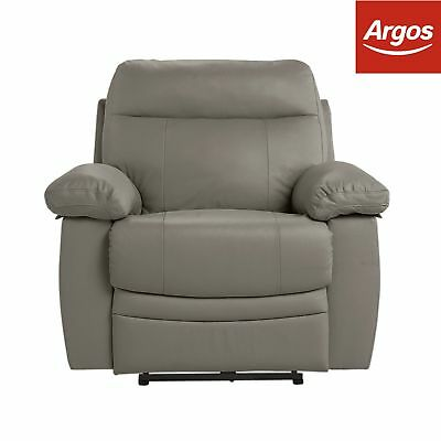 Argos Home New Paolo Power Recliner Chair - Grey