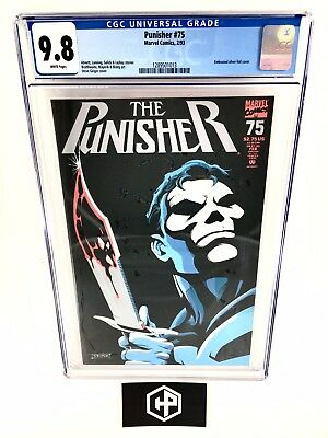 The Punisher #75 (1993) • CGC 9.8 • Embossed Foil Cover • Netflix Series • Hot!