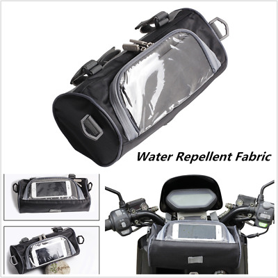 New Windshield Bag Motorcycle Front Handlebar Fork Storage Container Luggage Bag