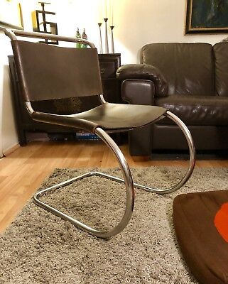 Early 1960's Vintage Knoll Mies Van Der Rohe MR Lounge Chair NO RESERVE $1 Bid