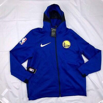 9ce065f42fc3d3 Nike Golden State Warriors Therma Flex Showtime Hoodie 899840-495 Men's 2XL  XXL
