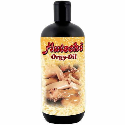 Flutschi Massage Öl 500 ml. Flutschi Orgy-Oil  Sex Erotik Massage Mastrubation