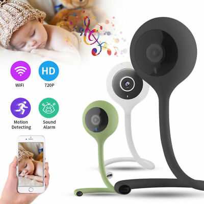 Smart Wifi Temperature Baby Monitor Audio & Video IR Night Vision Safety Camera