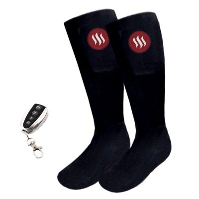 Heated socks with remote, sizes: M (5-7.5), L (8-11)