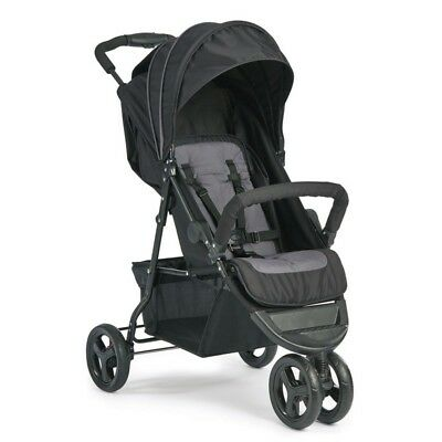"Babies ""R"" Us Graco Zobo 3 Wheels Baby Stroller Buggy Pushchair Jogger Black"
