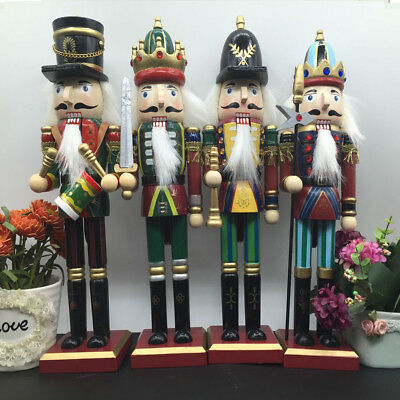 30Cm Xmas Christmas Traditional Style Nutcracker Wooden Guard Ballet Decoration