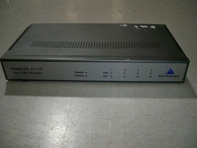 Astrocom Powerlink Pro100 PL 200 Wan Traffic Manager SEE NOTES