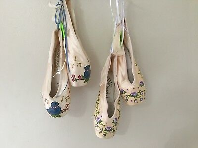 Pointe Shoes Hand Painted Gift Item for Dancer, 4 designs