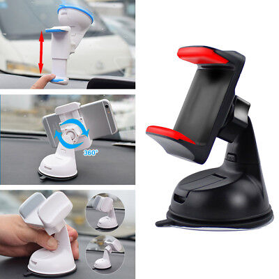 Universal Car Mobile Phone Holder Suction Cup Mount Windscreen Dashboard