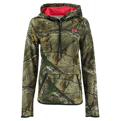 Under Armour Women's UA Logo Camo Hunting Hoodie
