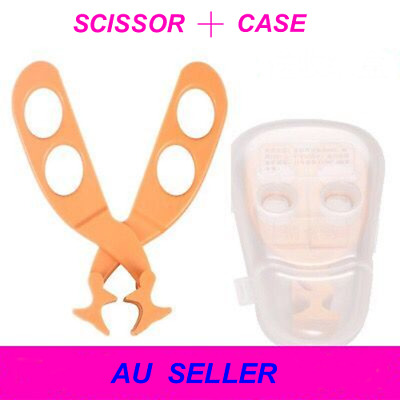 Infant Baby Food Scissors Cutter Feeding With Case