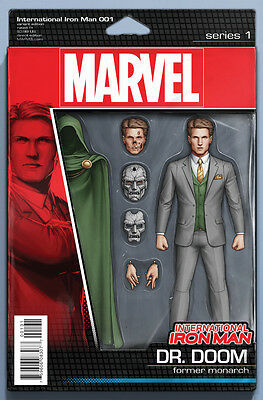 International Iron Man #1 Nm New (Action Figure Variant) Free Uk P+P!