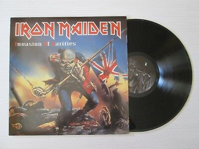 IRON MAIDEN Invasion Of Rarities 2XLP RARE NWOBHM SOUNDHOUSE TAPES