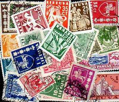 Lithuania - Lithuania 300 stamps different