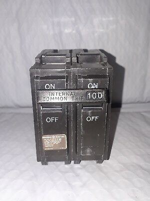 General Electric Thql21100  2 Pole 100 Amp Type Thql Circuit Breaker  New