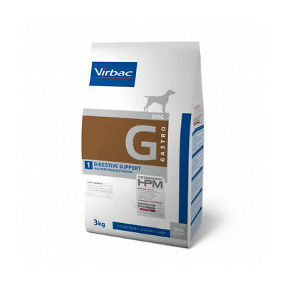 Croquettes Virbac pour chien Veterinary HPM Gastro Digestive Support Sac 7 kg