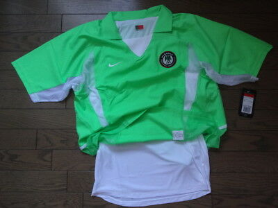 Nigeria 100% Authentic Player Issue Soccer Jersey Shirt L 2002 03 Home NWT  Rare 13148b626