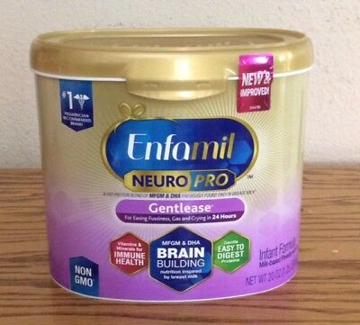 (5) Tubs of Enfamil NEURO PRO Gentlease Formula - EXPIRES 05/2019 and Later