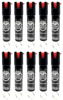 10 Police Magnum pepper spray .75oz keyring personal safety defense protection