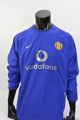 2002-03 NIKE Manchester United Long Sleeve 3RD Away Third Shirt SIZE L (adults)