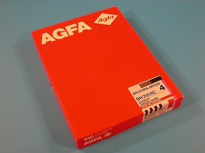 AGFA Brovira-Speed BH 310 RC 18X24cm 100 Sheets Grade 4 Un-Opened Old Stock