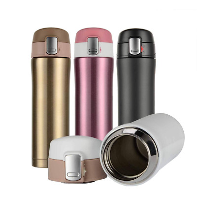 Coffee Mug Double Walled Vacuum Insulated Travel Bottle, Stainless Steel Flask,