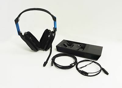 ASTRO A50 Wireless Headset and Base Station for PS4 - Black/Blue