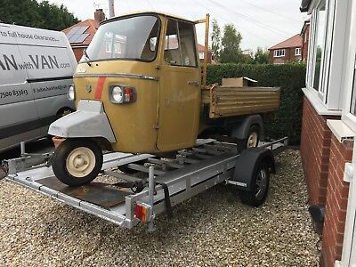 PIAGGIO 601 APE 1974 CLASSIC & Trailer with winch