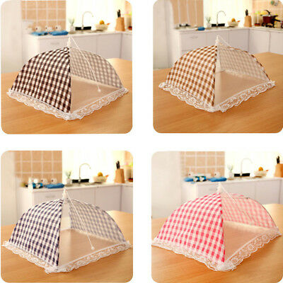 ... 1PC Kitchen Food Umbrella Cover Picnic Barbecue Party Fly Mosquito Mesh Net Tent