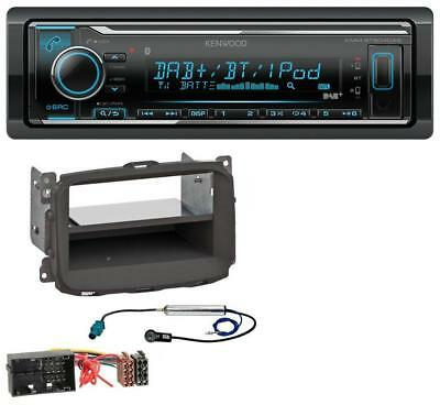 Kenwood Bluetooth MP3 USB DAB Autoradio für Alfa Romeo Giulietta 940 Facelift ab