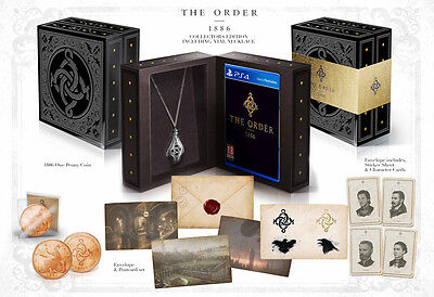 The Order 1886 Collector's Edition PS4 Playstation 4 SONY ORDINATEUR