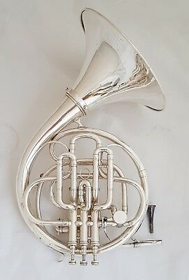 """French Compensating Double French Horn """"COUESNON"""" F and B flat, ascending model"""