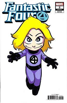 Fantastic Four #2 Skottie Young Invisible Woman Baby Variant Babies Incentive