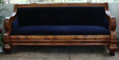 Original 19th Century Empire-style Couch (NR)