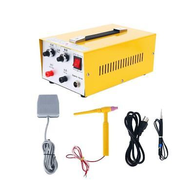 Pulse Sparkle Spot Welder 200W Jewelry Welding Machine Gold Silver Platinum 110V
